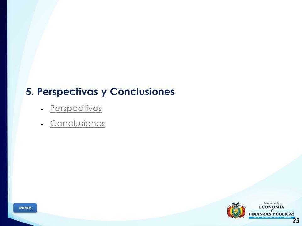 5. Perspectivas y Conclusiones