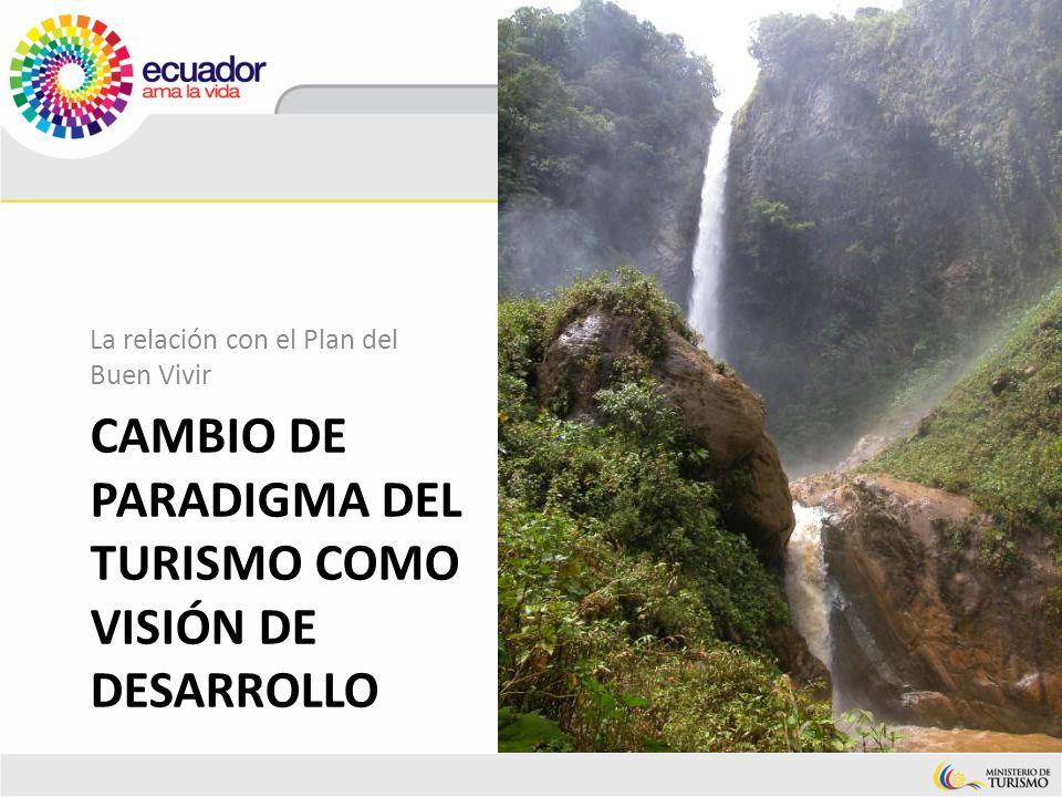 cambio de paradigma Del turismo como visión de desarrollo