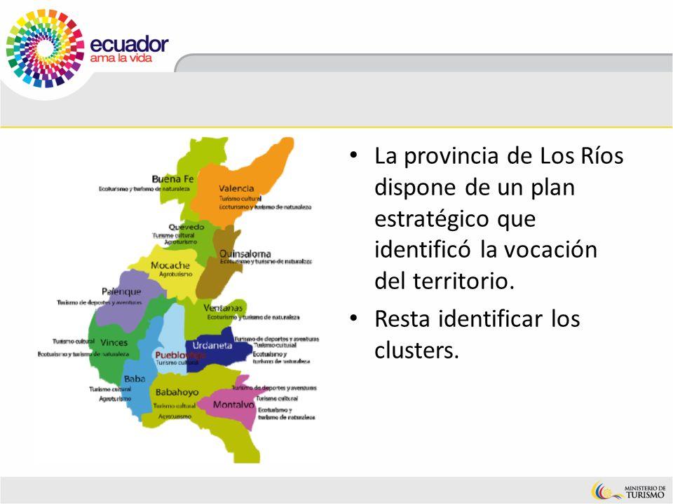 La provincia de Los Ríos dispone de un plan estratégico que identificó la vocación del territorio.