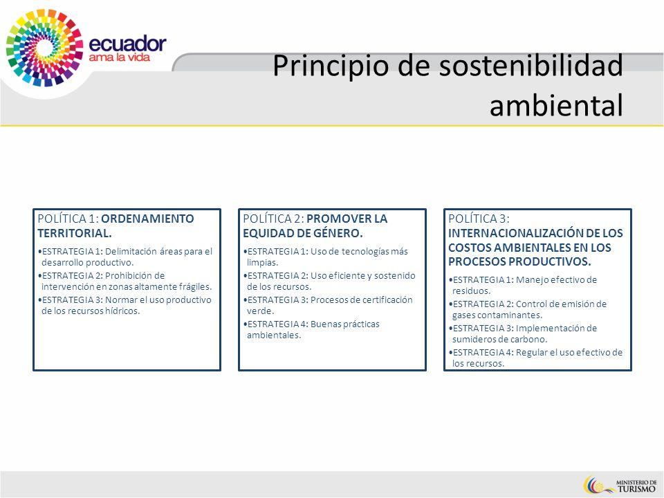Principio de sostenibilidad ambiental