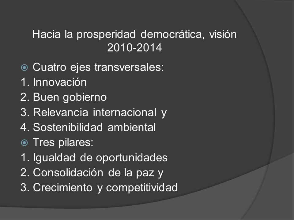 Hacia la prosperidad democrática, visión 2010-2014
