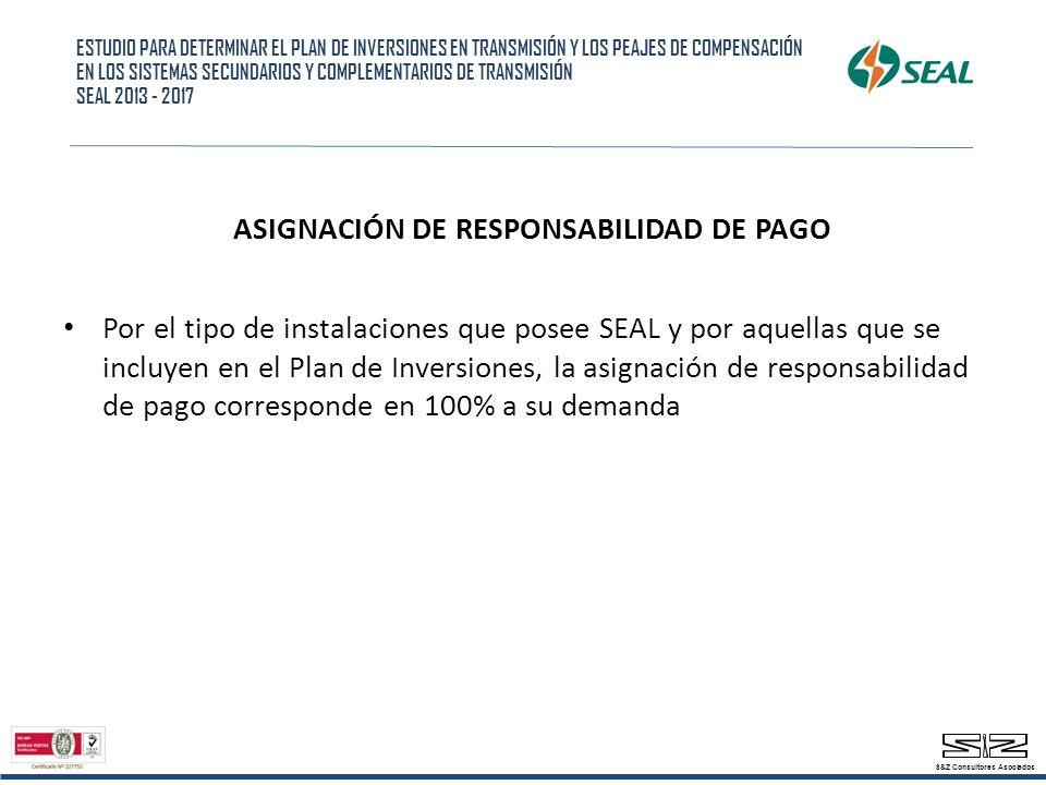 ASIGNACIÓN DE RESPONSABILIDAD DE PAGO