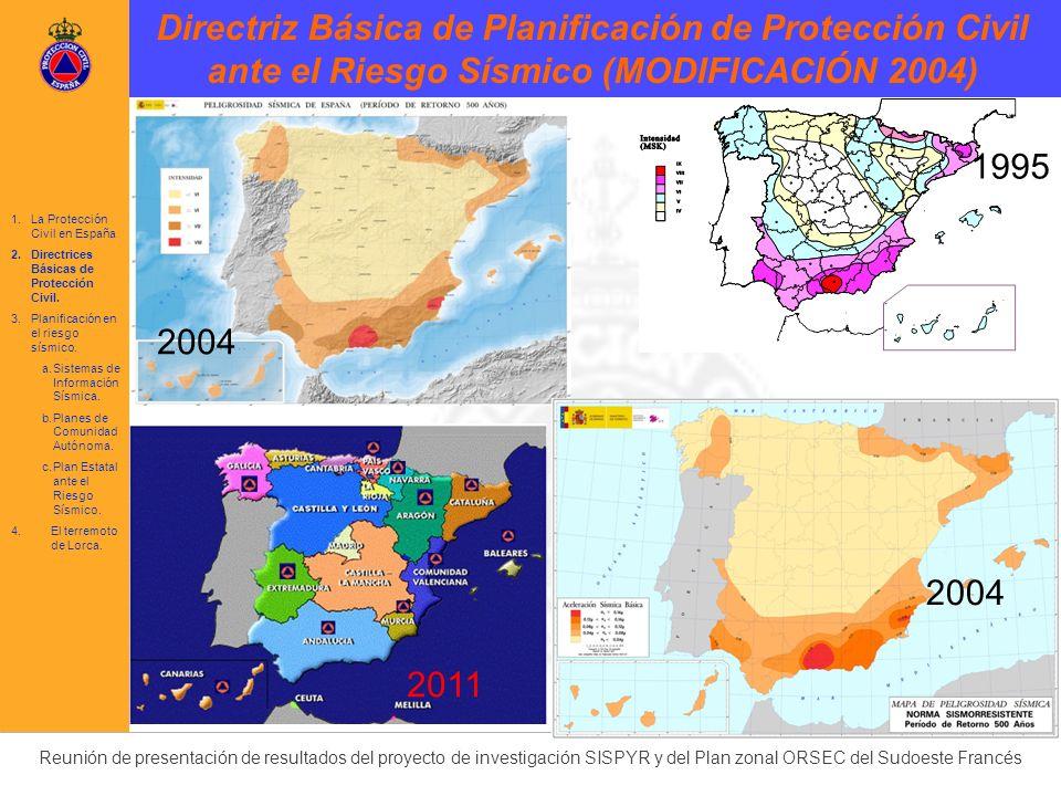 Directriz Básica de Planificación de Protección Civil