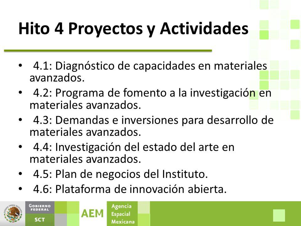 Hito 4 Proyectos y Actividades