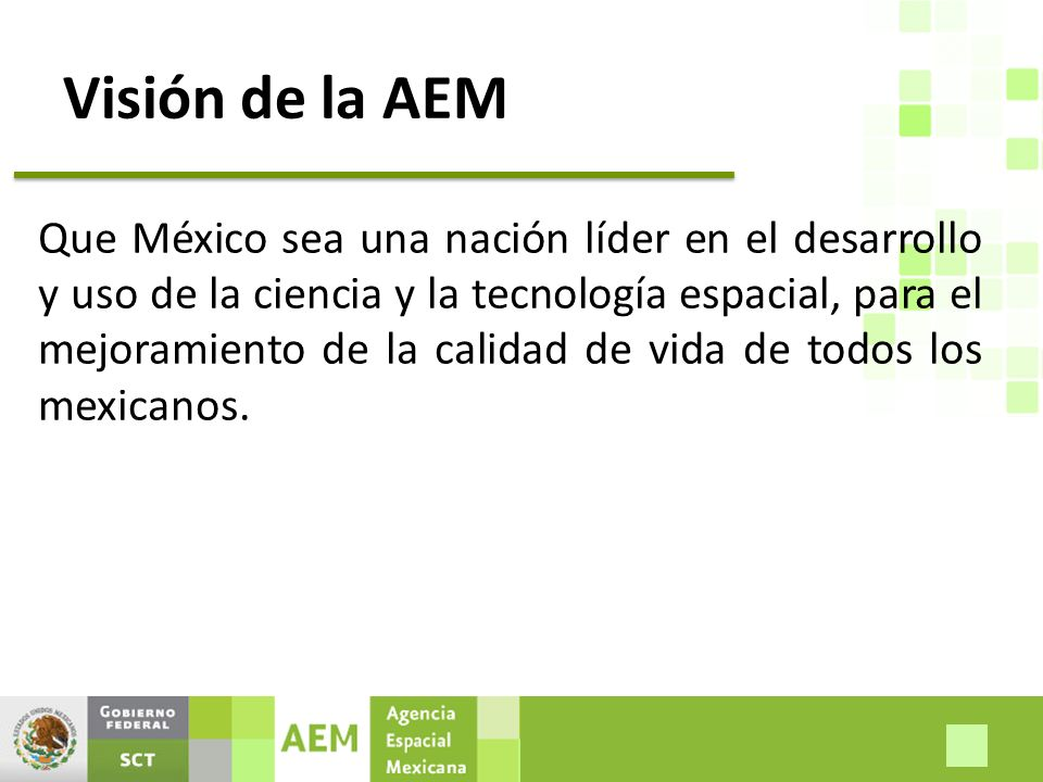 Visión de la AEM