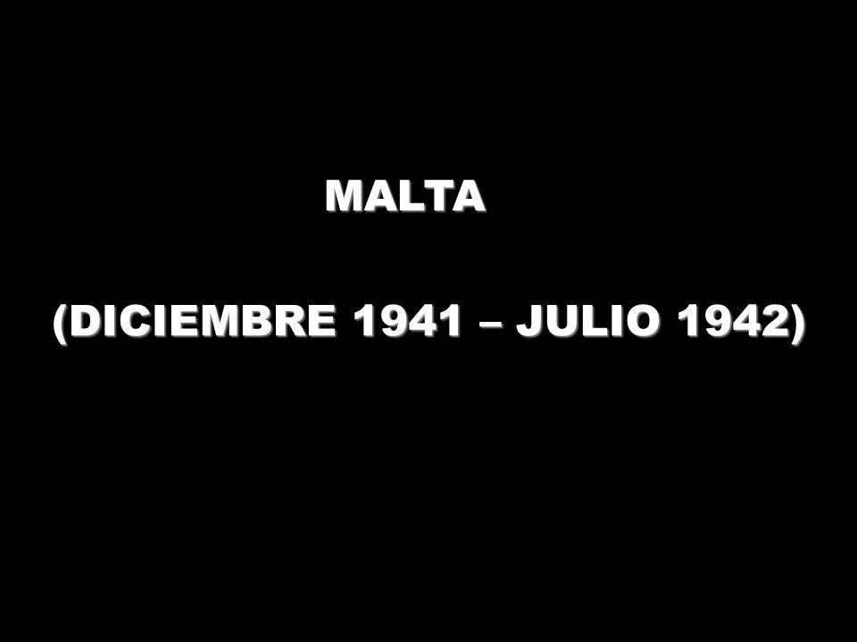 MALTA (DICIEMBRE 1941 – JULIO 1942)