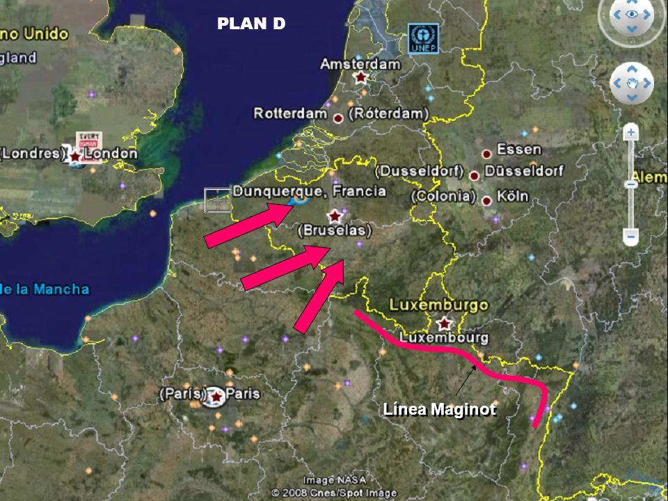 Línea Maginot PLAN D