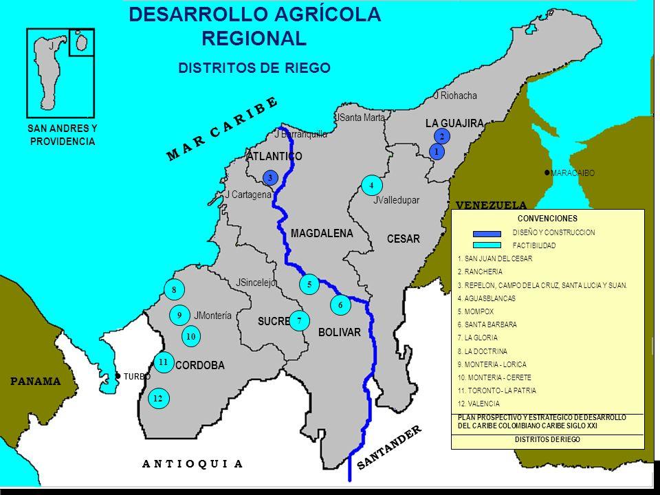 DESARROLLO AGRÍCOLA REGIONAL SAN ANDRES Y PROVIDENCIA