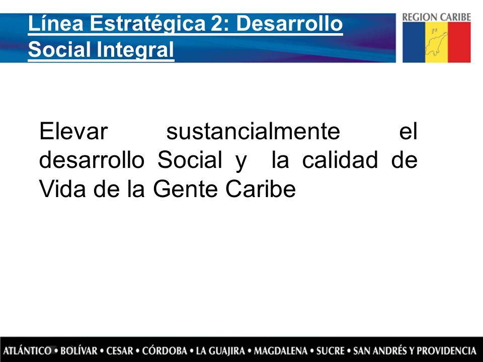 Línea Estratégica 2: Desarrollo Social Integral