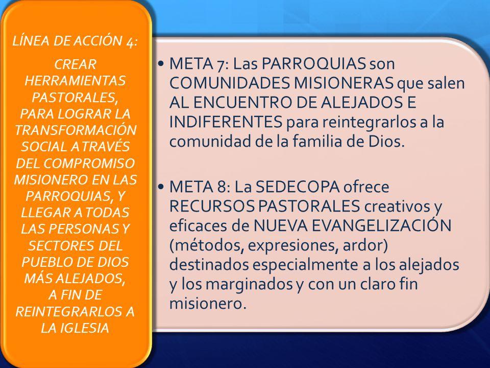 LÍNEA DE ACCIÓN 4: