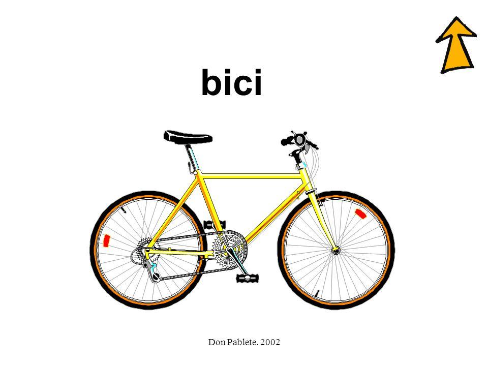 bici Don Pablete. 2002