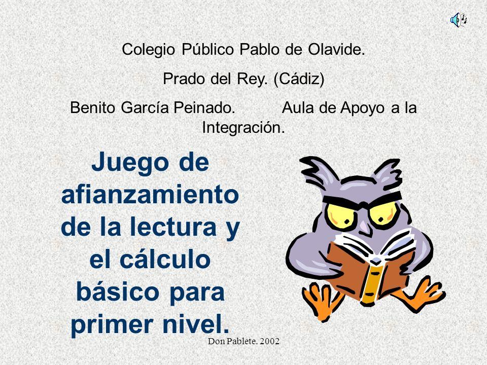 Colegio Público Pablo de Olavide.
