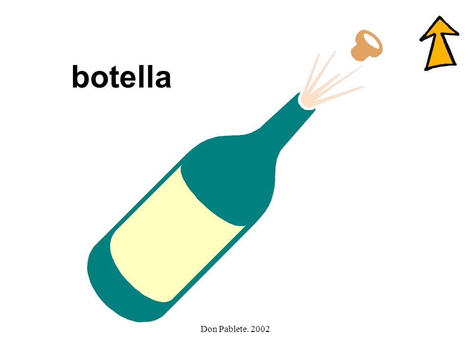 botella Don Pablete. 2002