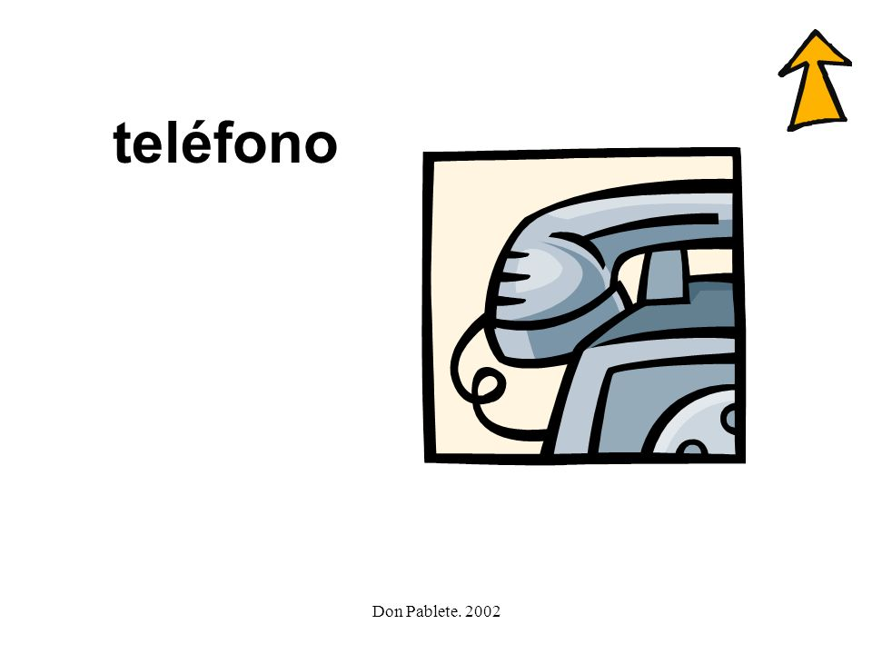 teléfono Don Pablete. 2002