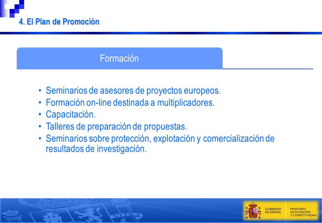 Seminarios de asesores de proyectos europeos.