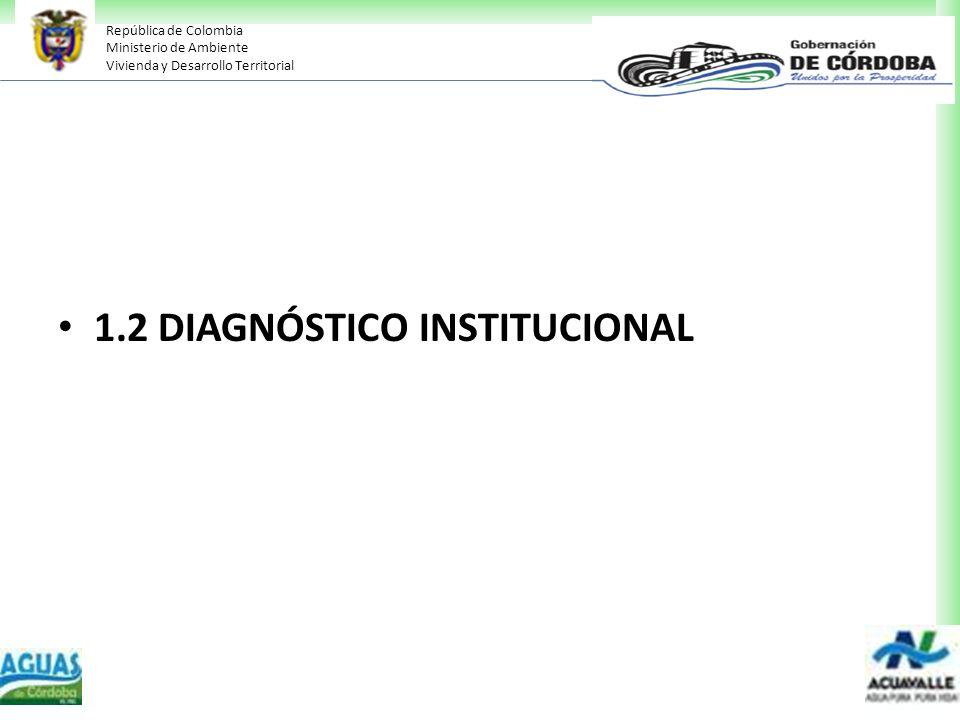 1.2 DIAGNÓSTICO INSTITUCIONAL