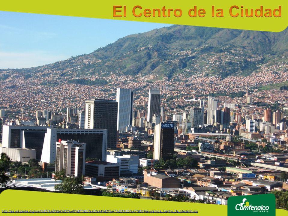 El Centro de la Ciudad http://as.wikipedia.org/wiki/%E0%A6%9A%E0%A6%BF%E0%A6%A4%E0%A7%8D%E0%A7%B0:Panoramica_Centro_De_Medellin.jpg.