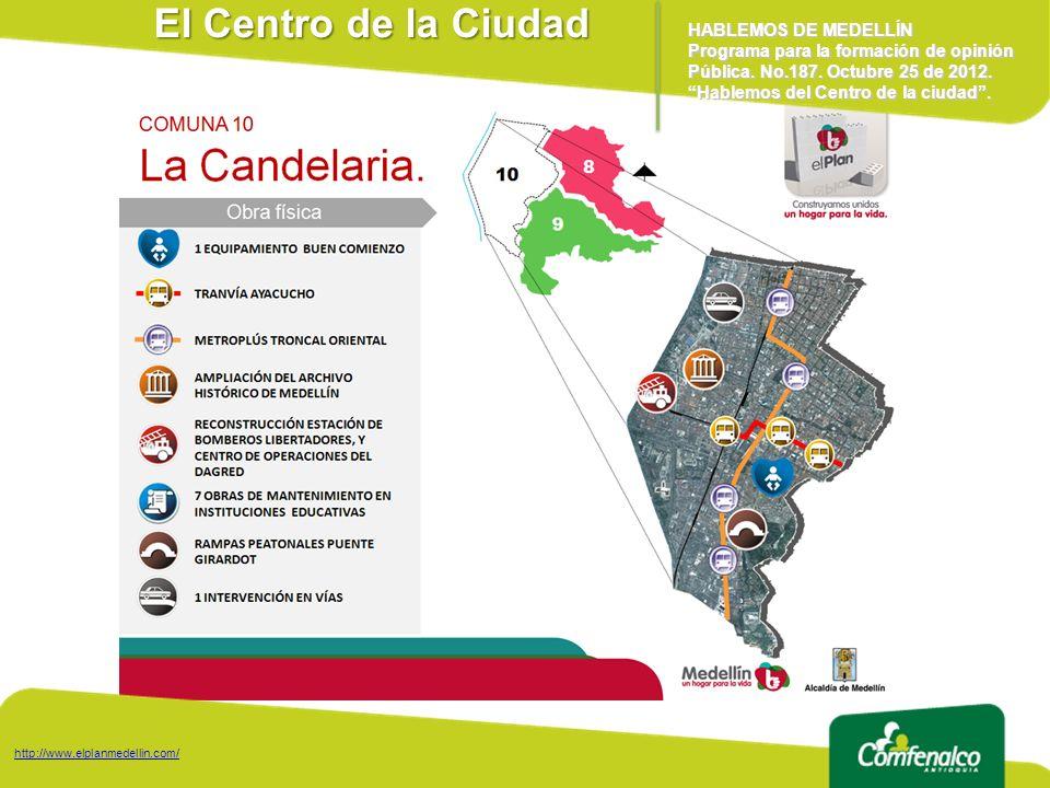El Centro de la Ciudad HABLEMOS DE MEDELLÍN