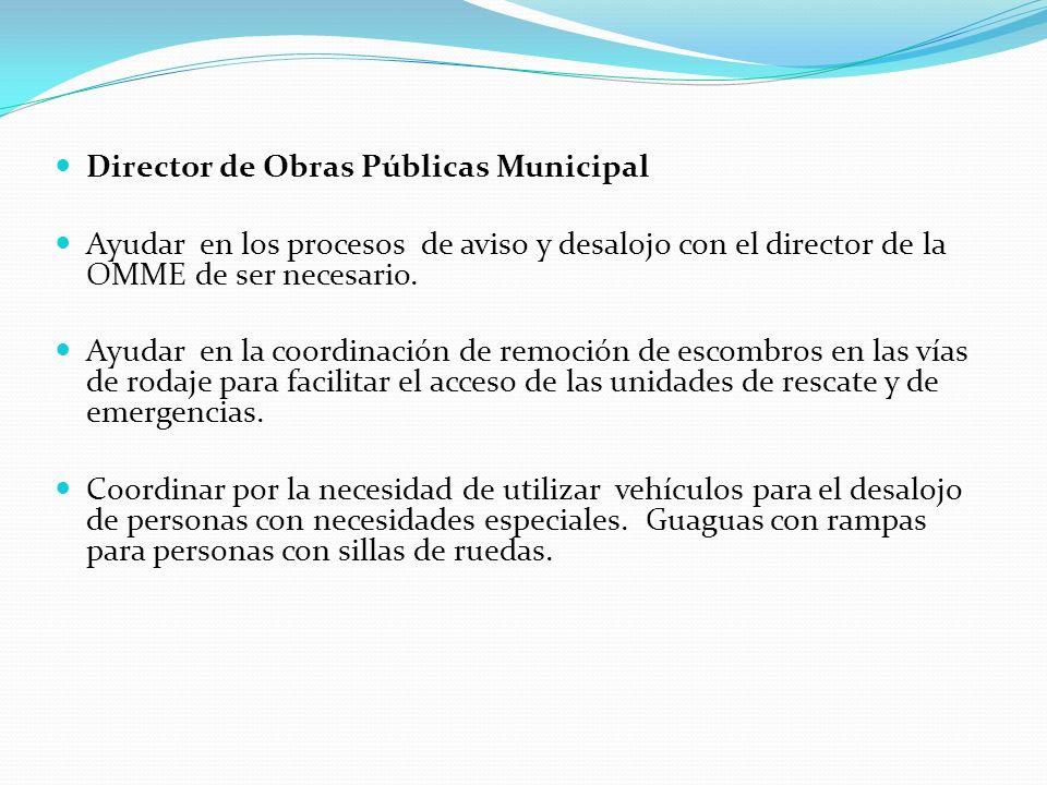 Director de Obras Públicas Municipal