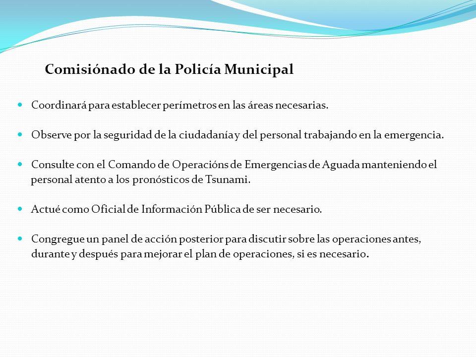 Comisiónado de la Policía Municipal