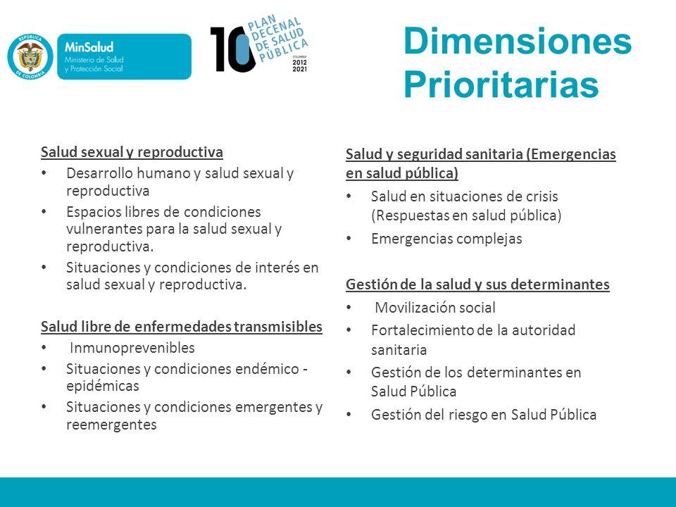 Dimensiones Prioritarias