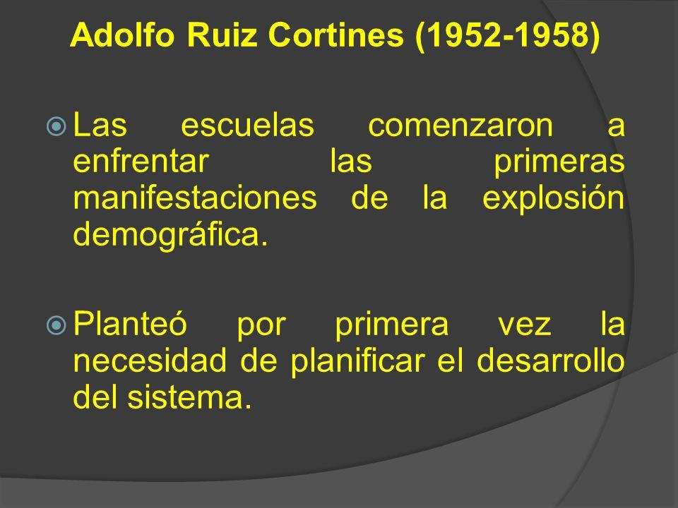 Adolfo Ruiz Cortines (1952-1958)