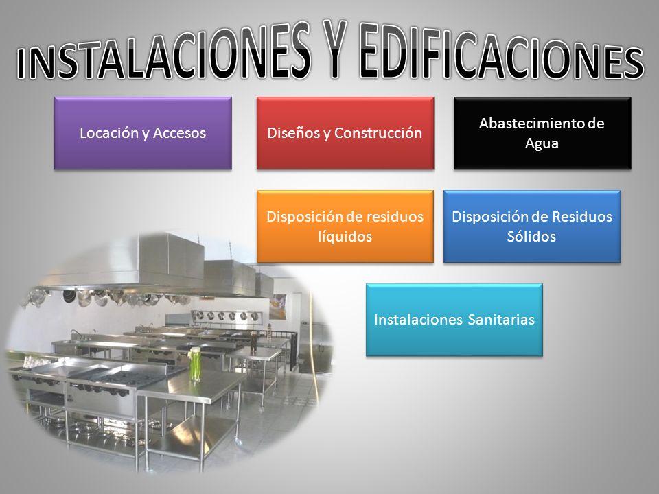 INSTALACIONES Y EDIFICACIONES