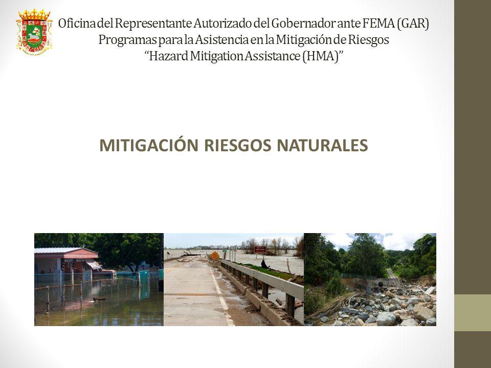 MITIGACIÓN RIESGOS NATURALES