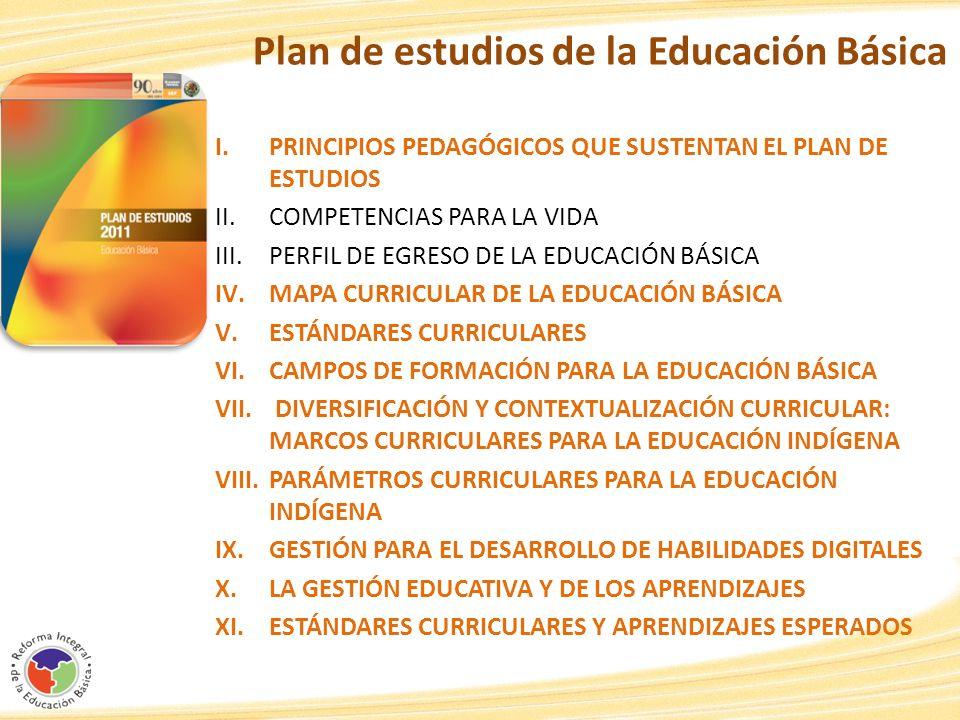 Plan de estudios de la Educación Básica