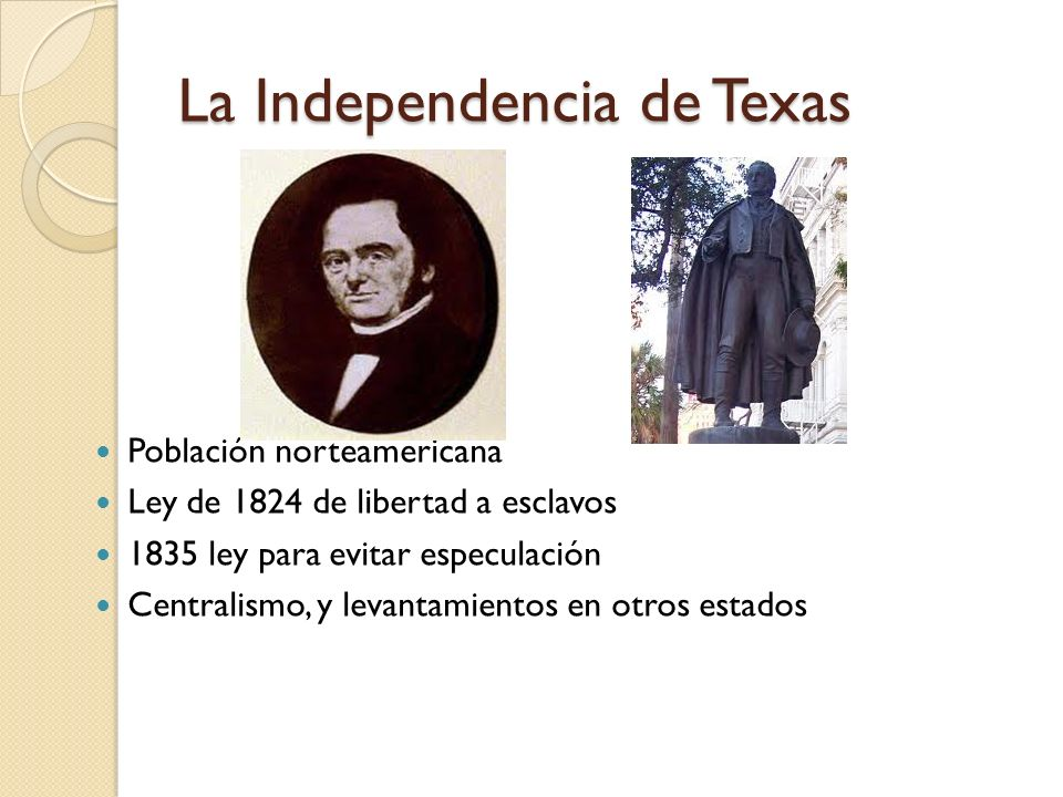 La Independencia de Texas