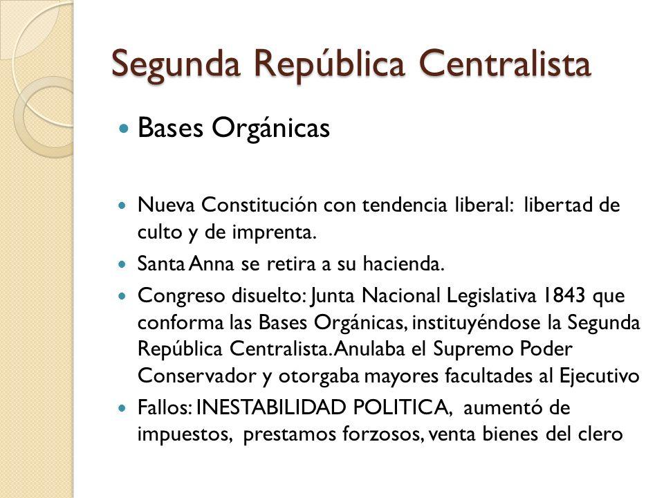 Segunda República Centralista
