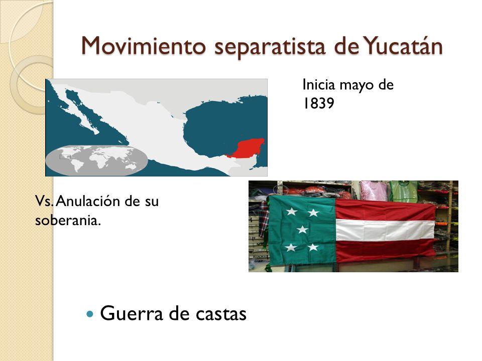 Movimiento separatista de Yucatán