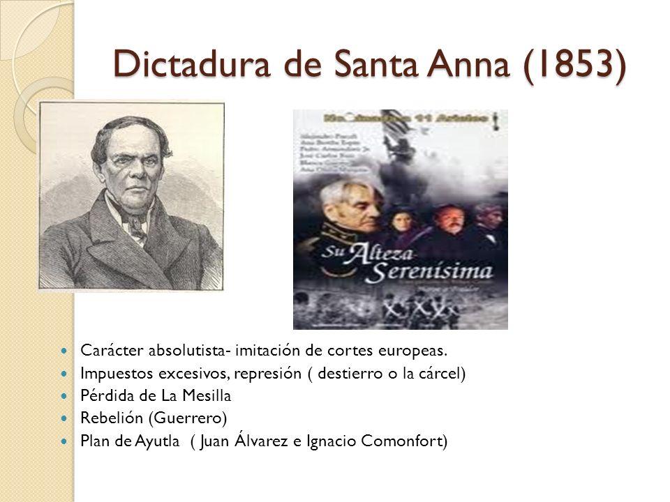 Dictadura de Santa Anna (1853)