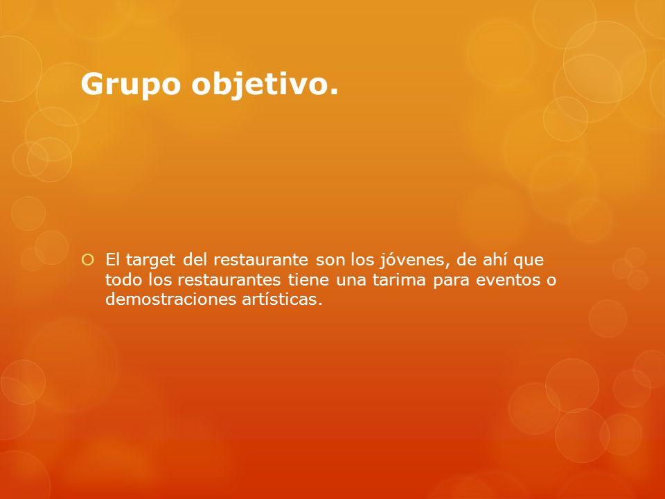 Grupo objetivo.
