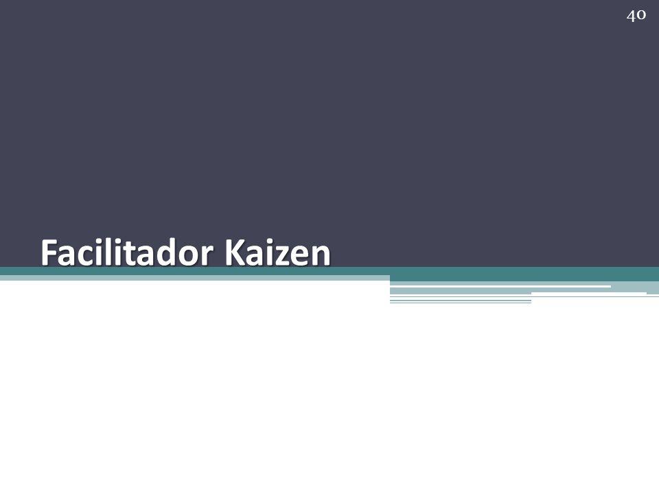 Facilitador Kaizen