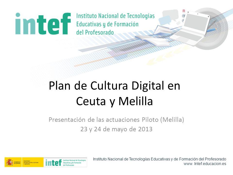 Plan de Cultura Digital en Ceuta y Melilla