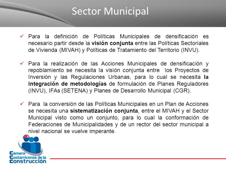 Sector Municipal