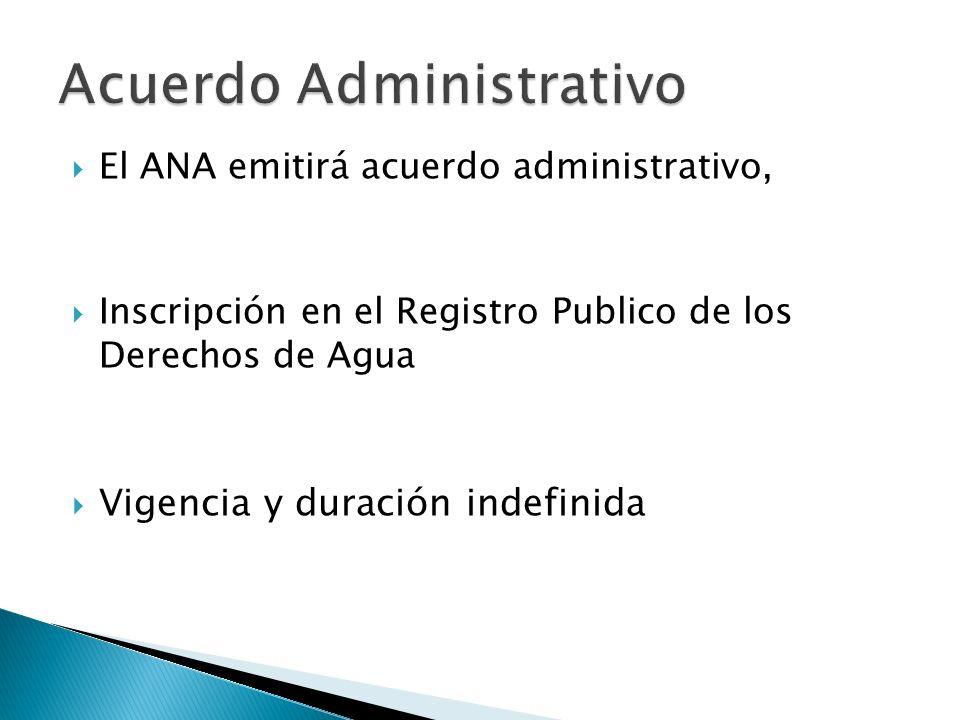 Acuerdo Administrativo