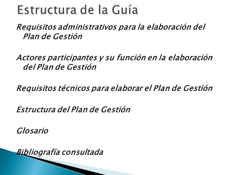 Estructura de la Guía