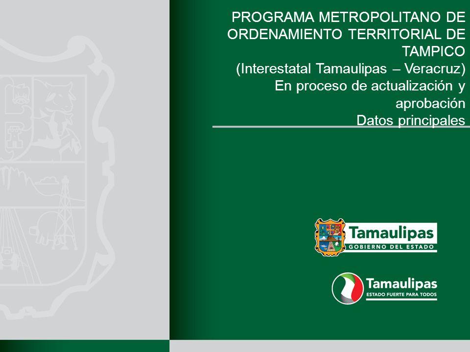 PROGRAMA METROPOLITANO DE ORDENAMIENTO TERRITORIAL DE TAMPICO