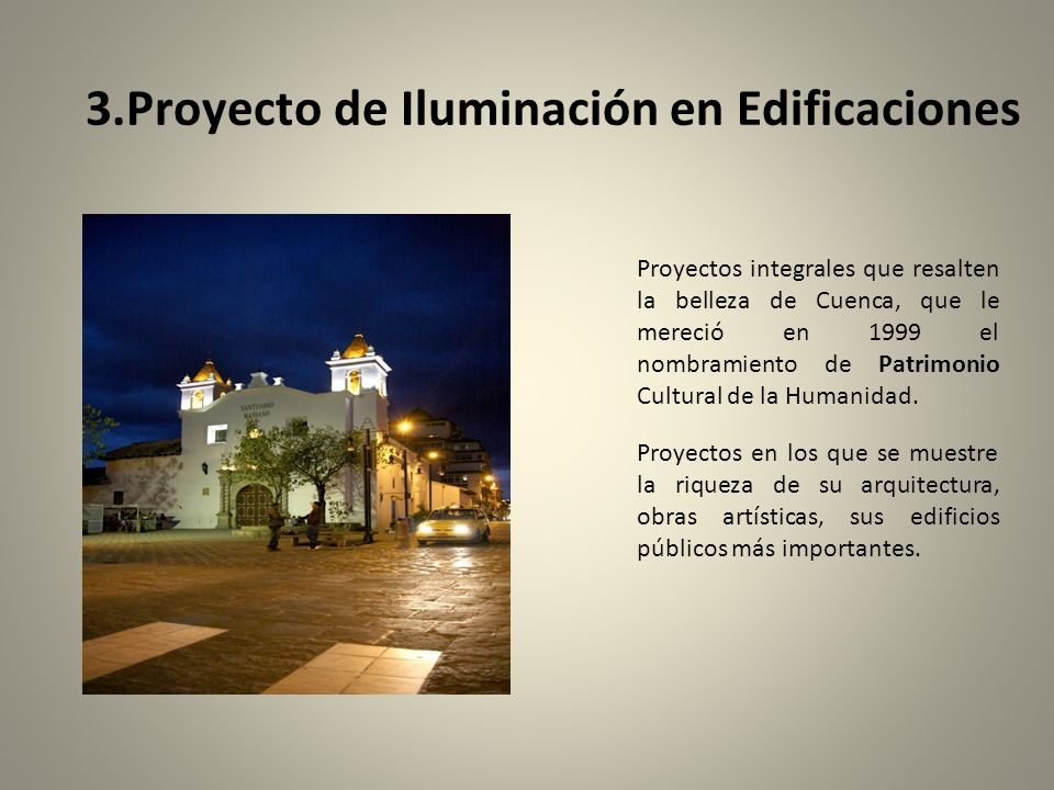 3.Proyecto de Iluminación en Edificaciones