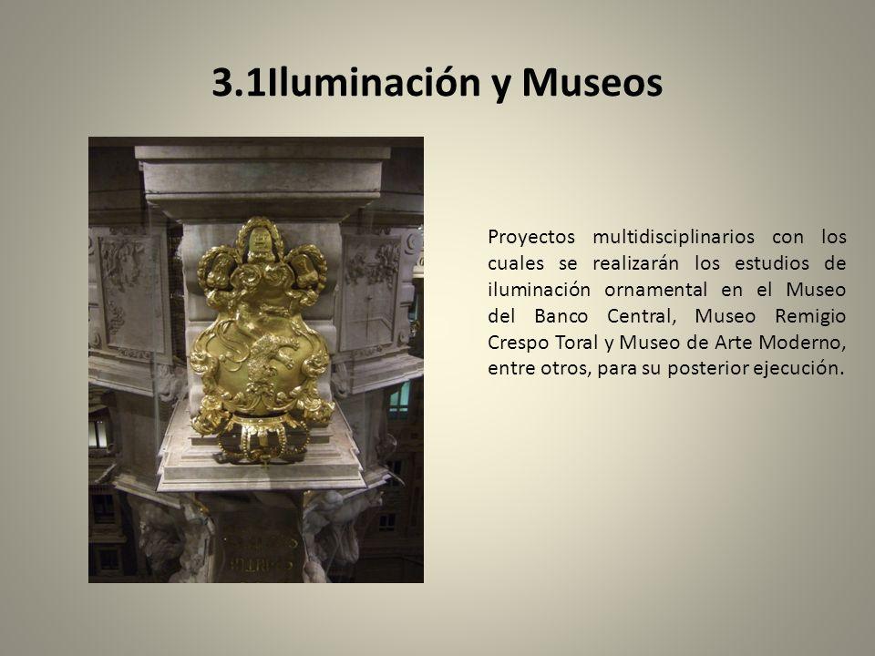3.1Iluminación y Museos