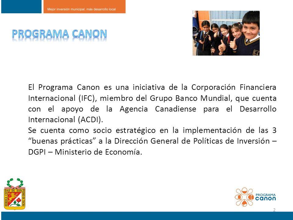 Programa canon