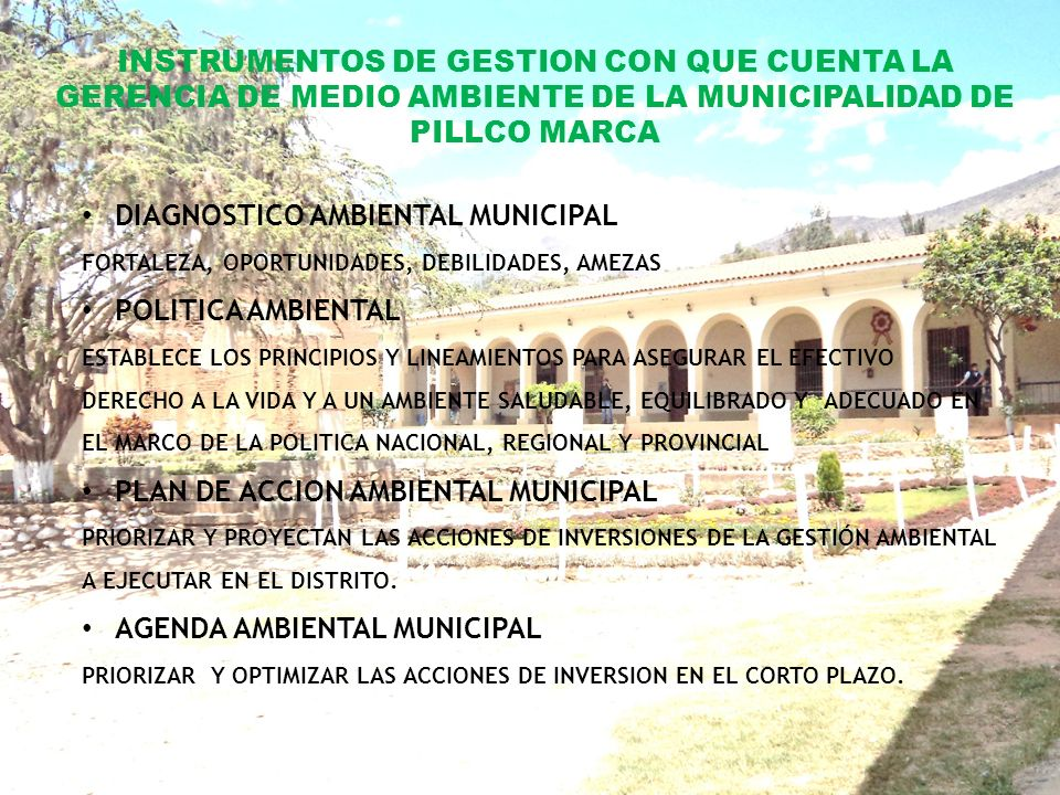 DIAGNOSTICO AMBIENTAL MUNICIPAL