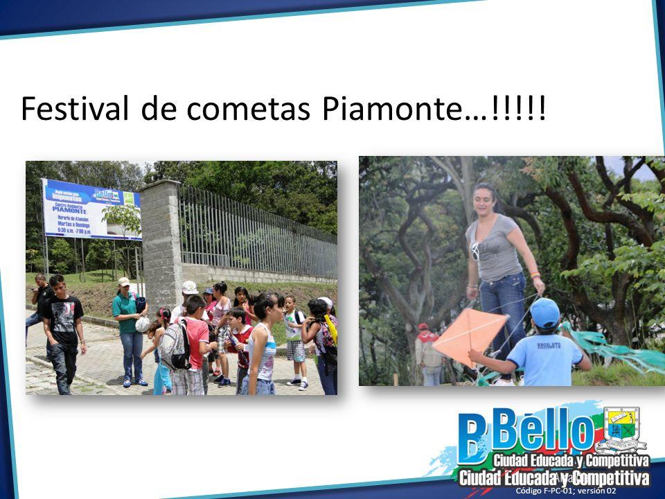 Festival de cometas Piamonte…!!!!!