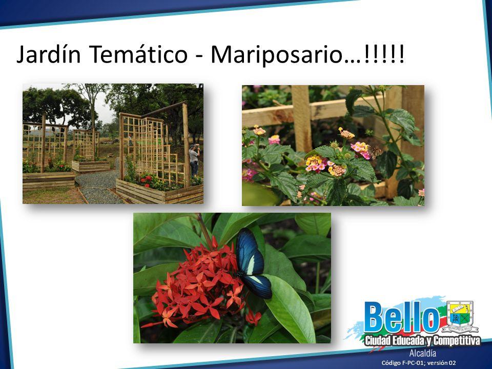 Jardín Temático - Mariposario…!!!!!