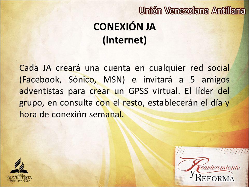 CONEXIÓN JA (Internet)