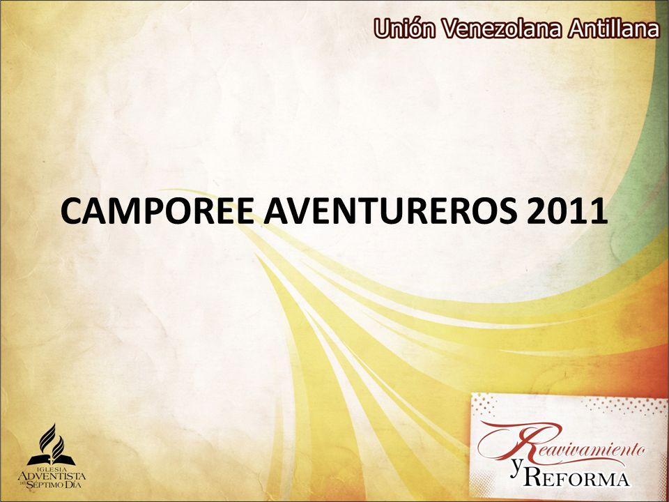 CAMPOREE AVENTUREROS 2011