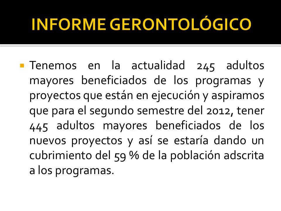 INFORME GERONTOLÓGICO