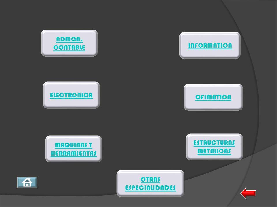 ESTRUCTURAS METALICAS MAQUINAS Y HERRAMIENTAS